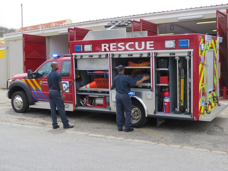 Foto brandweer mannen