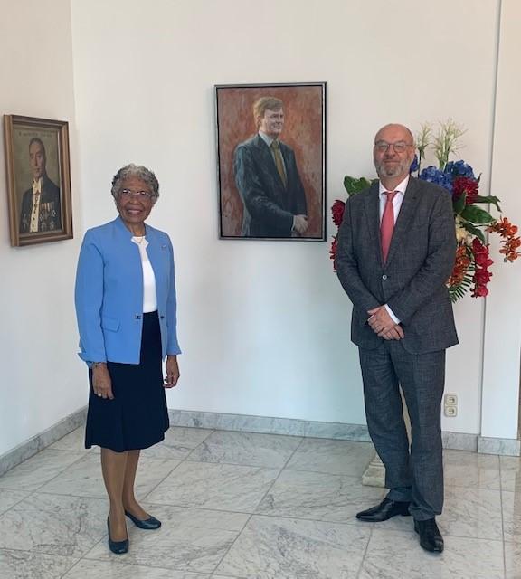 Nieuwe procureur-generaal maakt kennis met Gouverneur